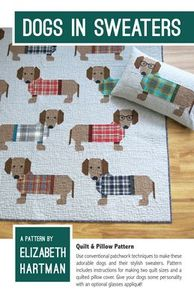 Elizabeth Hartman EH034 Dogs in Sweaters Quilting Pattern