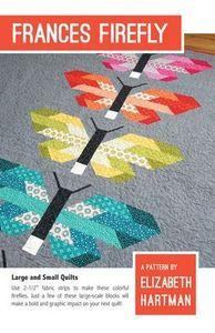 Elizabeth Hartman EH026 Frances Firefly Quilting Pattern
