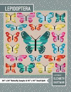 Elizabeth Hartman EH027 Lepidoptera Quilting Pattern