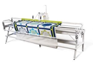 """83340: Grace GQ 12' 144"""" King Quilting Frame with Qnique 14+ Longarm Machine"""