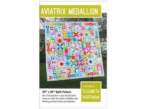 Elizabeth Hartman EH006 Aviatrix Medallion Quilting Pattern