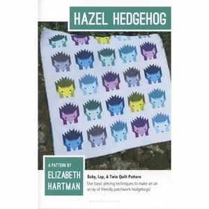 Elizabeth Hartman EH015 Hazel Hedgehog Quilting Pattern