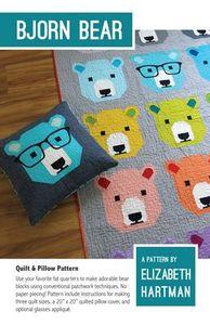 Elizabeth Hartman EH028 Bjorn Bear Childrens Pattern