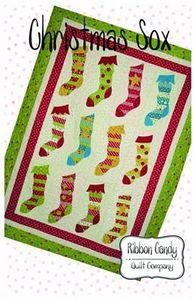 Ribbon Candy Quilt Company RCQC501 Christmas Soxs Quilt Pattern