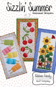 Ribbon Candy Quilt Company RCQC554 Sizzlin' Summer Sewing Quilt Pattern