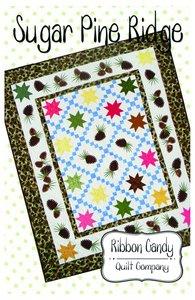Ribbon Candy Quilt Company RCQC583 Sugar Pine Ridge Pattern