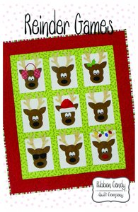 Ribbon Candy Quilt Company RCQC599 Reindeer Games Pattern