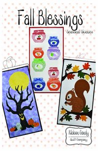 83552: Ribbon Candy Quilt Company RCQC608 Fall Blessings Pattern
