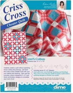 Criss Cross Cheater Quilt