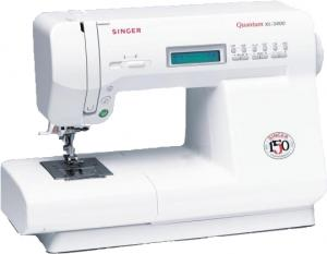 Singer Best Buy Quantum XL 3400  Stylist/Rumina 150-Stitch Computer Sewing Machine, Block & Script Lettering, 3 Buttonholes & Needle Up/Down $200 LESS