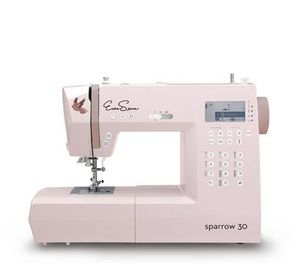 EverSewn, Sparrow 30, 310-Stitch, Computer Sewing Machine, 2 Fonts, 10x1Step BH,Start Stop,Speed Limit,Needle Up/Down,Threader & Trim,Drop Feed,7mm ZZ,Top Bobbin,7 Feet