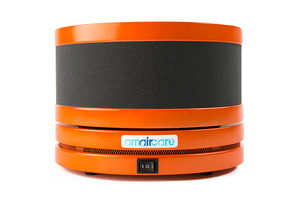 Amaircare 02-A-3KOR-00 Roomaid Mini Orange Air Purifier, Activated carbon filtration with VOC Cartridge, HEPA Filter