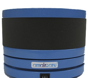 Amaircare 02-A-3KBL-00 Roomaid Mini Blue Air Purifier, Activated carbon filtration with VOC Cartridge, HEPA Filter