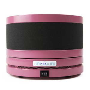 Amaircare 02-A-3KPK-00 Roomaid Mini Pink Air Purifier, Activated carbon filtration with VOC Cartridge, HEPA Filter