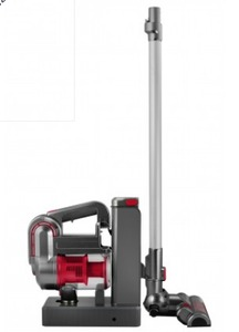 Kalorik Red/Silver 2-in-1 Cordless Cyclonic Vacuum Cleaner