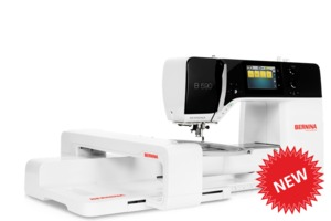 84412: Bernina B590E Next Generation Sewing Machine with Embroidery Module