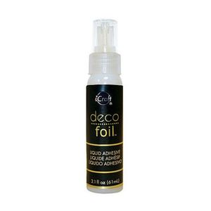 84306: iCraft DecoFoil by Therm O Web DF4822 Deco Foil Adhesive 2.1oz Bottle