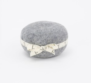 Wooly Wonders Pincushion - Gray
