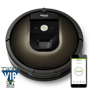 iRobot R980020 Roomba 980 Wi-Fi® Connected Robot Vacuum