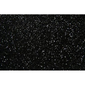 Siser Glitter HTV Heat Transfer Vinyl Sheet- Black 12'' x 20''