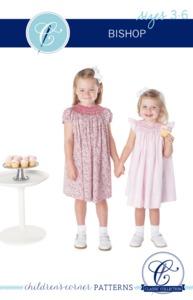 Children's Corner CC003S Bishop Sewing Pattern Newborn-24 mo