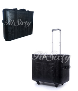P60920 P60928 2 Piece Travel Trolley Wheeled Roller Bags Cases for Sewing and Embroidery Arm Machines, Verify Your Dimensions