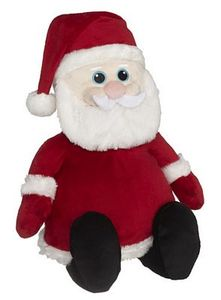 "Creature Comforts EB11017 (Embroider Buddy 11017) Santa Buddy Embroidery Blank 16"" + Stuffing"
