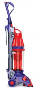 Dyson DC07 Scarlet/ Purple Low Reach Bagless ROOT CYCLONE Upright Vacuum Cleaner NEVER LOSES SUCTION! - Factory Serviced DC07