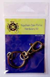 Around the Bobbin ATB150-HK Keychain Coin Purse Hardware