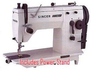 Singer 20U73, 20u109, 20u13, 20u33, 20u53, Best Buy, Professional, 9mm ZZ, & SS, Industrial, Sewing Machine, Fully Assembled, Power Stand, 1/2HP 110V 1725RPM, & Ready to Sew, Singer 20U73, Professiona,l 9mm Zigzag, & Straight Stitch, Sewing Machine, up to 2500SPM, & Power Stand,  Size 9-19 Needles, ( 20u13, 20u33, 20u53)