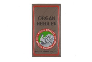 85216: Organ HAx130SPI Box of 100 Chrome Plated Microtex Needles
