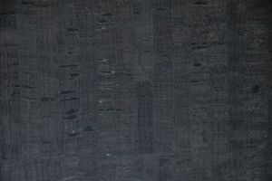 "Eversewn VL15BK1 Black Cork Fabric 1 Yard Roll x 27"""