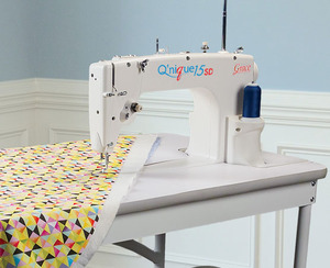 machine quilt tables thread quilting head
