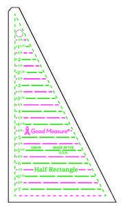 85637: Good Measure GMHR Half Rectangle Ruler
