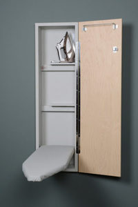 "85638: IRON-A-WAY NE-42 Non Electric 42"" Wall Mount Ironing Board, Hinged Door"