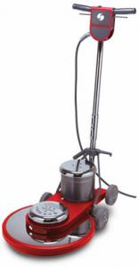 "Sanitaire SC6045A 20"" Floor Burnisher, 1500RPM, 1.5HP, 20' Foot Power Cord, Wrap Around Bumber, Safety Off, Chrome Steel Housing, Fold Down Handle, UL"