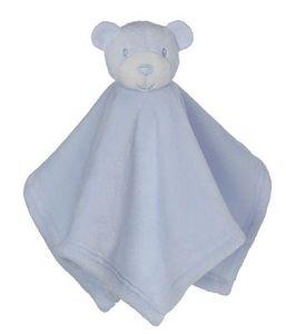 Creature Comfort Mini Bear Blankey- Blue