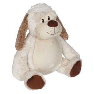 "Creature Comforts EB31098 Jumbo Dalton Buddy Dog 22"" Stuffed Animal Embroidery Blank"