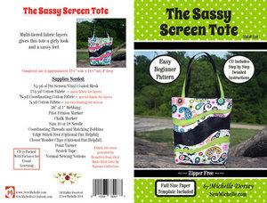 86512: Sew Michelle SM128 Sassy Screen Tote