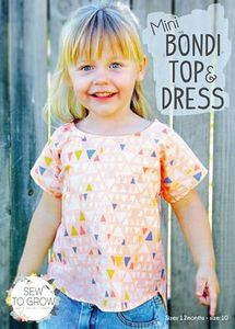 Sew To Grow SWTG18 The Mini Bondi Top & Dress