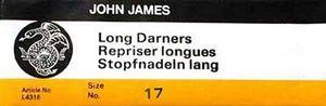 86508: John James 6637 Long Darners sz17