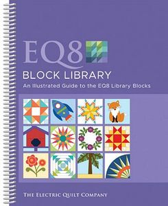 86673: Electric Quilt 8 EQ8 Block Library