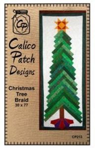 Calico Patch Designs CPD213 Christmas Tree Braid
