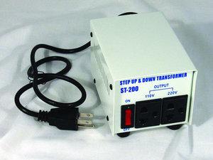 4823: ST200 Step Up, Step Down Voltage Converter Transformer ST-200 Watts