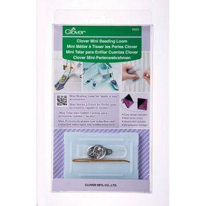 87058: Clover CL9924 Mini Beading Loom for Beadwork, Optional Kits