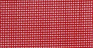 86516: Lyle Enterprises VMR-128 36in Wide Vinyl Coated Mesh Red