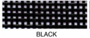 "55659: Lyle Enterprises VMC-02 Black Vinyl Mesh Roll 18"" X 36"""