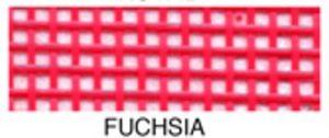 "55654: Lyle Enterprises VMC-320 Fuchsia Vinyl Mesh Roll 18"" X 36"""