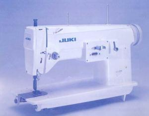 "Juki LZ-391N 11"" Arm, Straight. Zigzag, and Freemotion Industrial Sewing Machine, Assembled Power Stand"