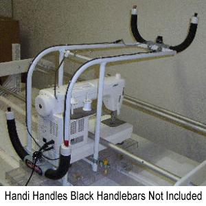 Handi Handles Front Mount Frame for Sewing Machines on Handi Quilter, Quilt Easy or Superquilter Quilt Frames, Handi Handles Bars Not Included - SPECI